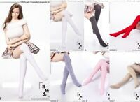 1/6 Manmodel MM08 Female Figure Socks Clothes Access Cotton Stockings 12''