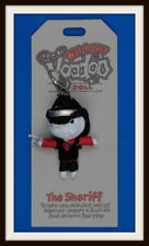 THE SHERIFF ~ JUSTICE OVER BULLIES  ~ WATCHOVER VOODOO DOLL ~ HANDMADE  UK STOCK
