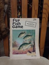 Fur Fish Game May 1958 How to catch a cui-ui