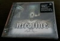 NEW Factory-Sealed NICOTINE Session JAPANESE Import CD with HYPE Sticker!