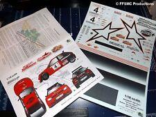 [FFSMC Productions] Decals 1/18 306 Maxi Vaison Rallye des Gueules Noires 2011