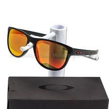 bc725c1a3a Oakley Plata Redondo Gafas de sol en Negro Mate, Prizm Rubí MotoGP  OO9342-1557