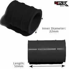 KTM Exhaust Silencer, Silicone Gasket Sleeve Black 22mm