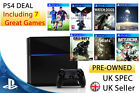 Playstation 4 Console 500gb (PS4) 7 GAMES !!! Bundle PAL UK FIFA & DESTINY