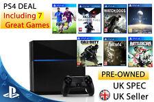 Playstation 4 Console 500gb (PS4) 7 GAMES !!!  Bundle PAL UK FIFA  & DESTINY