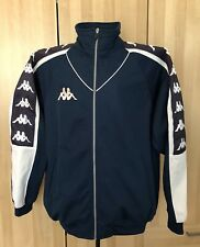 Men's Kappa Full Zip Track Jacket Size XL Blue