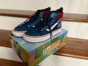 BNIB Vans X Simpsons Mr. Plow Sneaker Sk8-Hi MTE 2.0 DX Men Size 8.5 Women 10