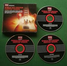While My Guitar Gently Weeps Queen Who U2 Bryan Adams Rolling Stones 3 x CD