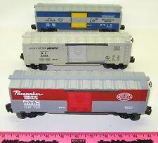 """Lionel new 6-19266 Postwar """"6464"""" Boxcar Series III 3 boxcar set"""