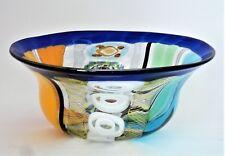 Vaso Ciotola In Pasta Di Vetro  Murano Glasses Made in Italy da collezione