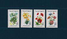 Maroc  flore fleurs    de 1975  num: 717/20  **
