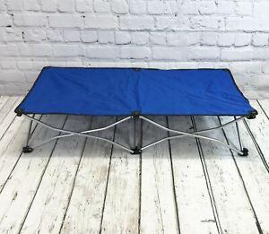 Folding Lightweight Travel Dog Bed Pet Raised Camping Basket