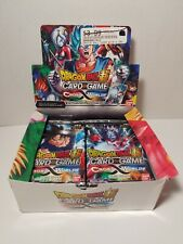 Dragon Ball Super Cross Worlds Card Game Booster Packs (Sealed Lot of 16 Packs)