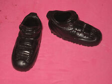 """BLACK ATHLETIC SHOES FOR 12"""" ACTION FIGURE"""