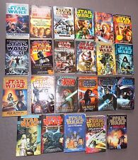 Large LOT 23 Star Wars Novels Paperback Books Dark Lord Luke Skywalker Jedi