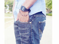 Casio F91W-1 Blue Resin Strap Digital Sport Authentic Watch Classic!