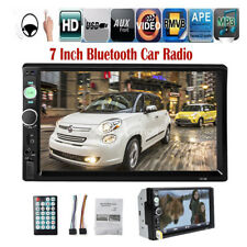 7'' 2 DIN Touch Screen Car Radio Mirror Link Stereo Bluetooth MP5 FM/AUX/USB/TF