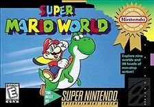 Super Mario World (Super Nintendo Entertainment System, 1992) - European Version