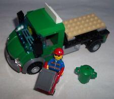 ** Nuevo Lego tren ferrocarril de carga de carga Colección Camión Con Minifig de 60052 **