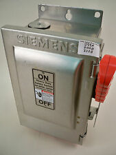 Siemens Stainless HNF361S 30a 600v Non-Fused Safety Switch 4 Available Refurbish