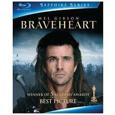 Braveheart (Blu-ray Disc, 2009, 2-Disc Set, Sapphire Edition, Brand New)