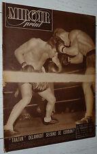 MIROIR SPRINT N°88 1948 FOOTBALL RUGBY FRANCE-ECOSSE CYCLISME F. PELISSIER BOXE