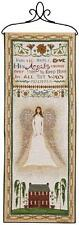 In All Thy Ways Angel Tapestry Wall Hanging Panel ~ Artist, Cindy Shamp