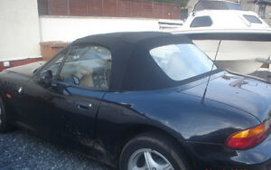 BMW Z3 Black Mohair Hood / Soft Top / Roof £880 Fitted. MOBILE. We come to you