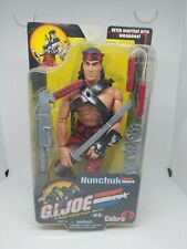 "Hasbro G.I. Joe vs Cobra NUNCHUK 12"" Action Figure"