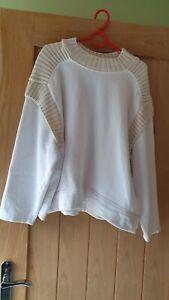 Ladies Size L Fit 14-16 Jumper By Zara