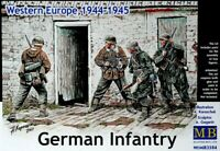 Master Box 3584 German Infantry, Western Europe, 1944-1945 Plastic Kit 1/35