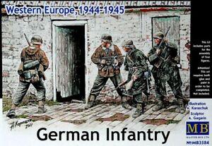 Master Box 3584 German Infantry, Western Europe, 1944-1945 Plastic Kit 1/35