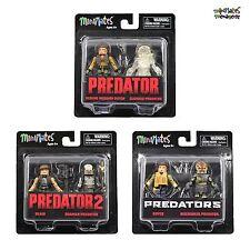 Predator Minimates Series 2 Common Set (Blain, Royce, Berserker, Shaman, Dutch)