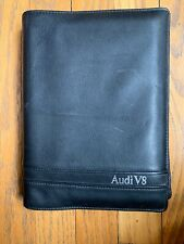 Audi V8 quattro 90-93 Complete Owners Manual Leather Case with All 1990 Manuals