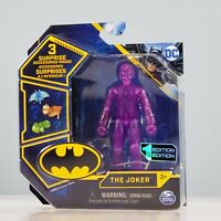 Spin Master Batman - The Joker (Purple) CHASE Figure with 3 Mystery Accessories
