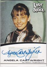 LOST IN SPACE FANTASY WORLDS OF IRWIN ALLEN A10 ANGELA CARTWRIGHT AUTOGRAPH