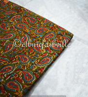 10 Yard Indian Hand block Print Running Loose Cotton Fabrics Printed Decor New36