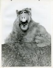 ALF THE ALIEN SMILING PORTRAIT ALF ORIGINAL 1986 NBC TV PHOTO
