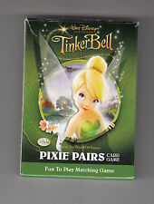 TINKER BELL **DISNEY**  PIXIE PAIRS CARD GAME EUC