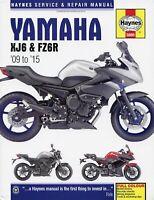 Yamaha XJ6 & FZ6R Repair Manual: 2009-2015