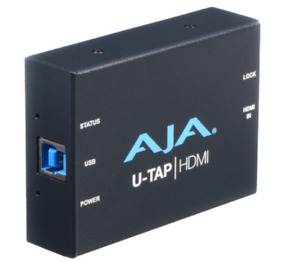 AJA U-TAP HDMI to USB 3.0 Video Capture Device w/ USB CABLE - Live Stream WebEx