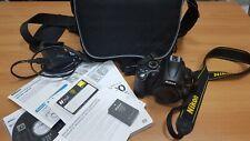 Reflex Nikon D5000 (14350 shutter): corpo macchina e borsa / camera body and bag