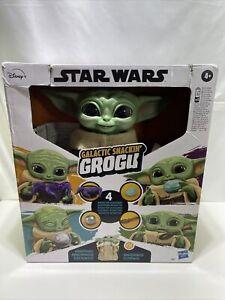 Brand New Star Wars Galactic Snackin Grogu Animatronic Toy Figure - Damaged Box