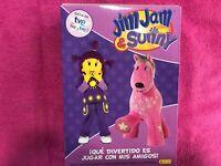 Jim Jam & Sunny Serie Tve 4 X DVD Che Divertente Giocare Con Miei Amici 5 6 7 8
