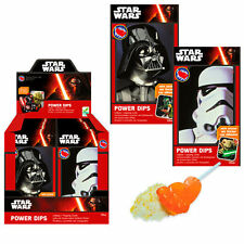 Star Wars Candy Power Dips Tüte Lolly Knisterpulver Sticker Süßigkeiten Lutscher