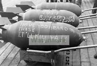 WWII photo American bombs for the bombing of Japan 586