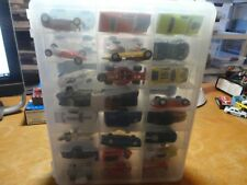 Clear Jammer Case  Holds 48 Loose Cars  FREE SHIPPING USA     Cars Not Included