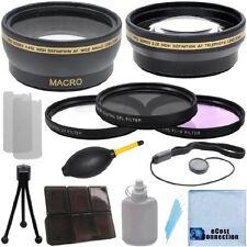 30mm 0.43x Wide Angle 2.2x Telephoto Lens Filter Kit for Sony SR45 SR10 SR10E