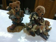 Set Of 2 Boyds Bears And Friends Figurines