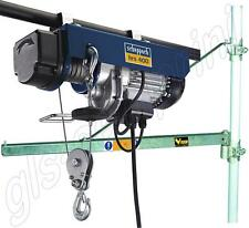 SCAFFOLD ELECTRIC LIFTING HOIST 200/400 KG SCHEPPACH HRS400 + SWING ARM 110CM